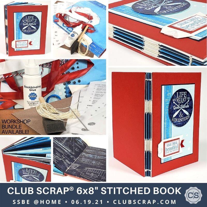 Stitched Book Promo Ad