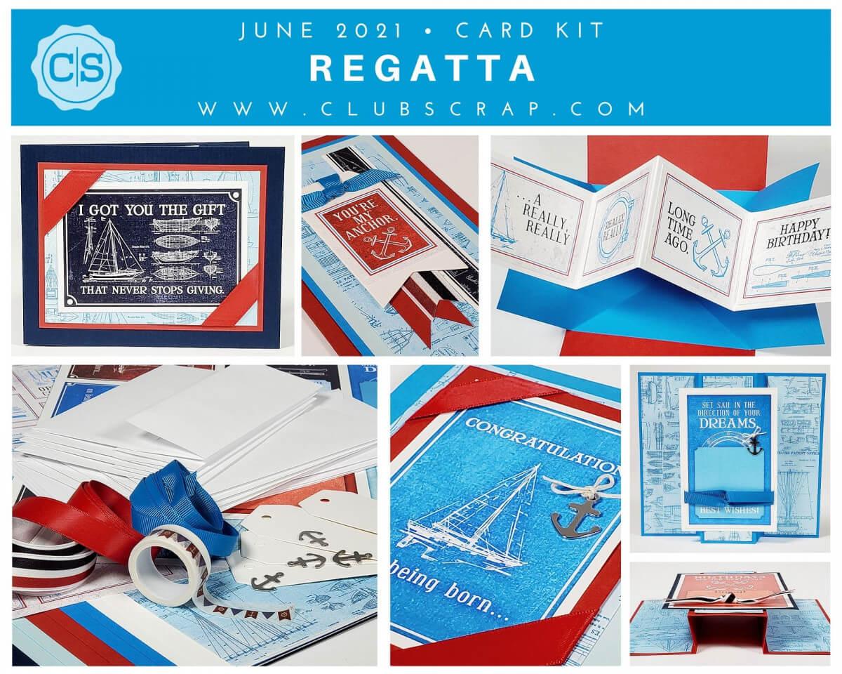 Regatta Card Kit Spoiler by Club Scrap #clubscrap
