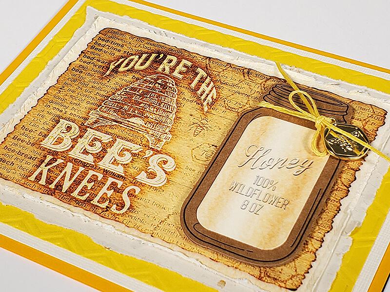 Let It Bee Cards by Club Scrap #clubscrap #cardmaking #efficientcardmaking