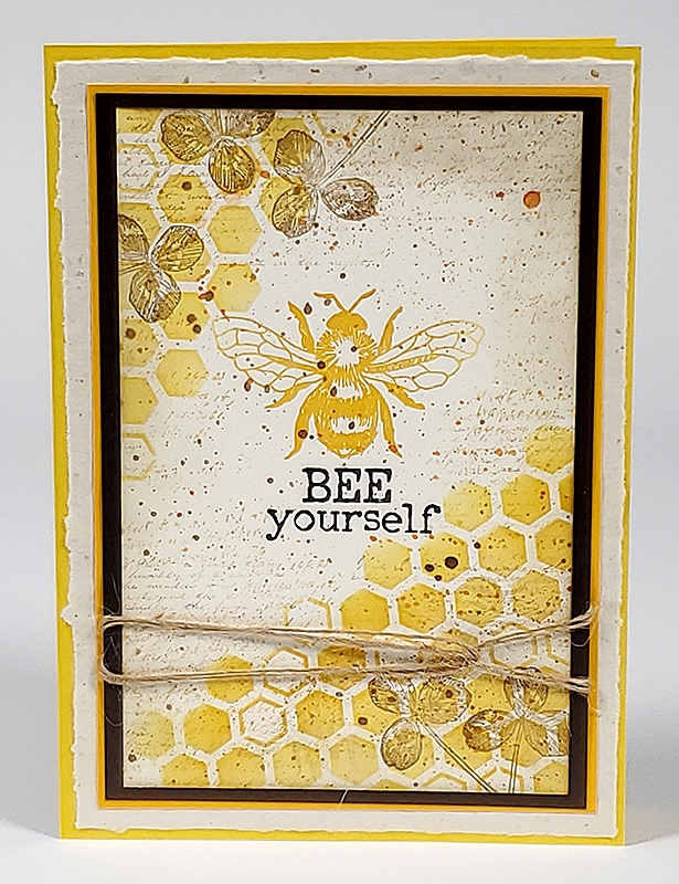Let It Bee Stamps #clubscrap