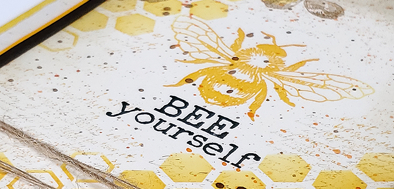 Let It Bee Stamps - Make cards for your honey.