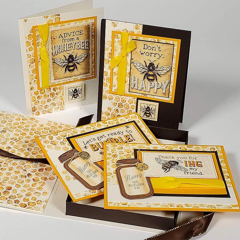 Quad Card Box with Cutaparts