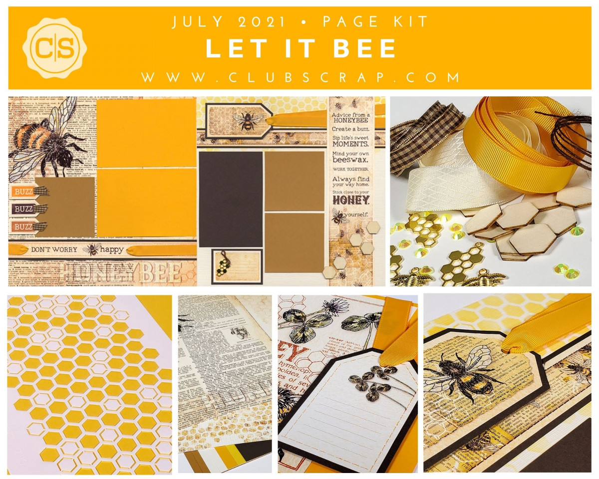 Let It Be Spoiler - Page Kit by Club Scrap #clubscrap #scrapbooking