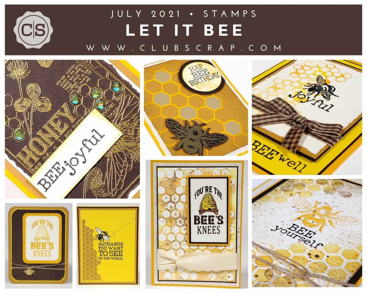 Let It Bee Spoiler - Stamps