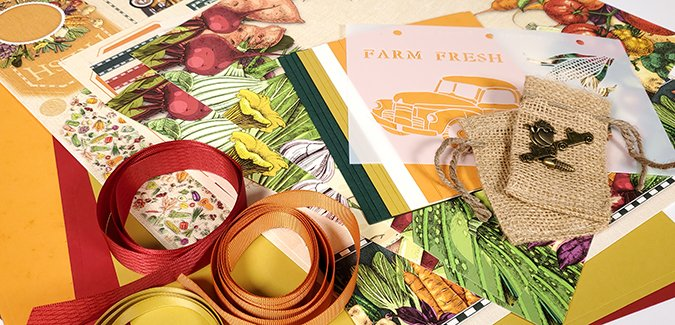 Farmstand Spoiler - A harvest of beautiful art and ideas!