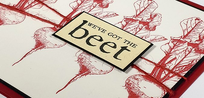 Farmstand Stamps - Simple ideas that can't be beet!
