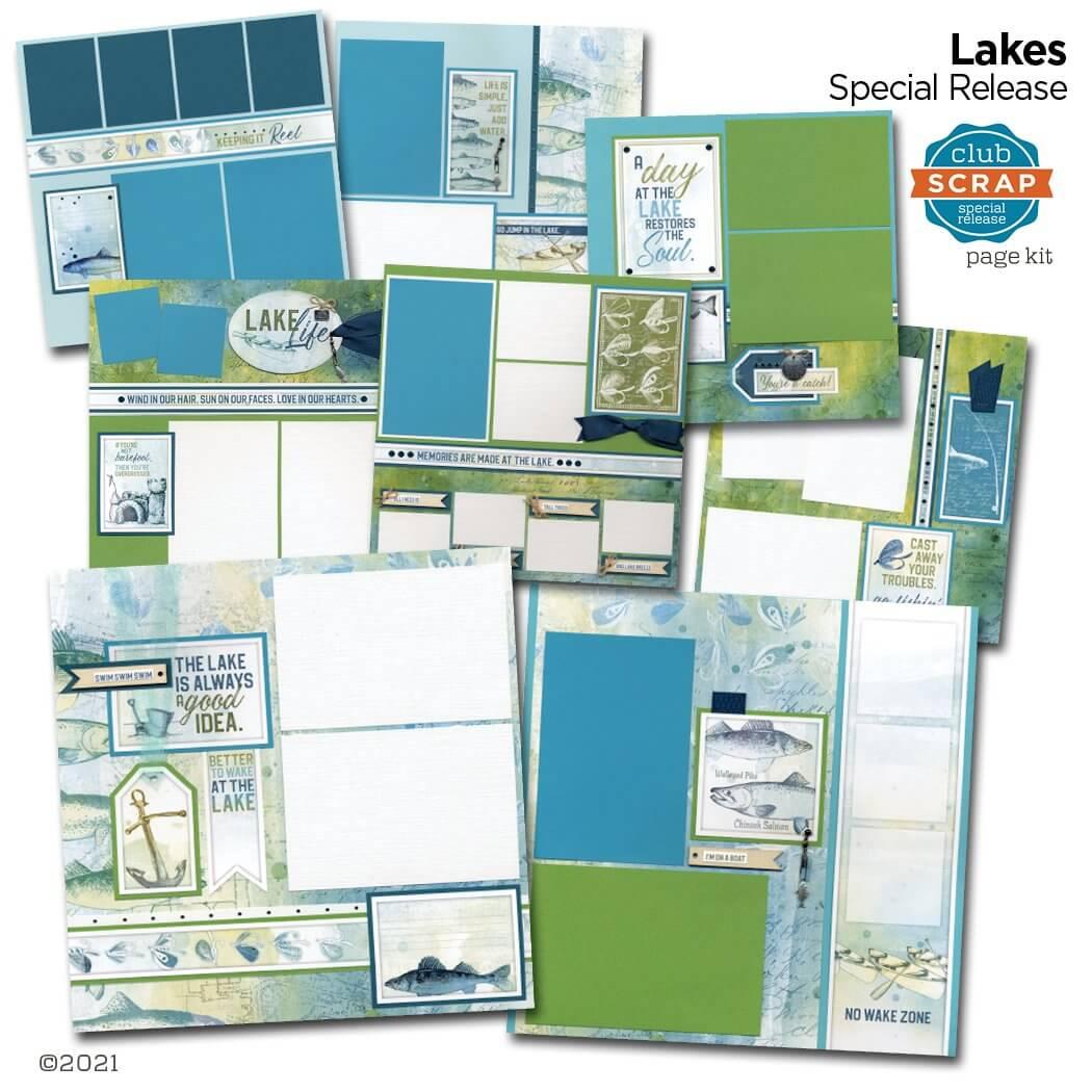 Lakes Remix Page Kit