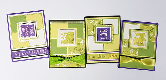 Deluxe Card Formula 15: Make a batch of Sprouts cards!