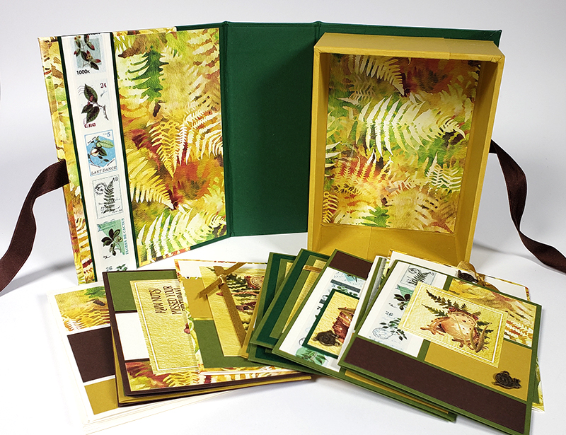 Forest Floor Box and Cards