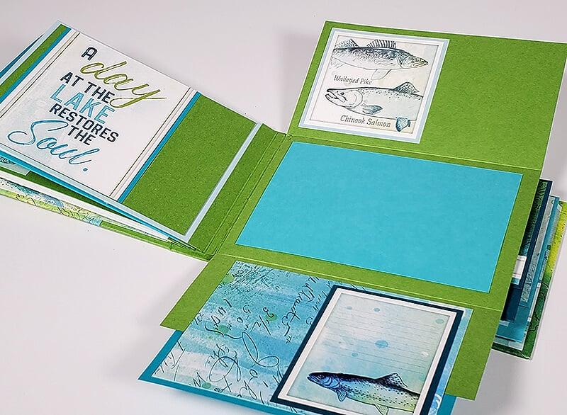 Lakes Remix U-Hinge Book