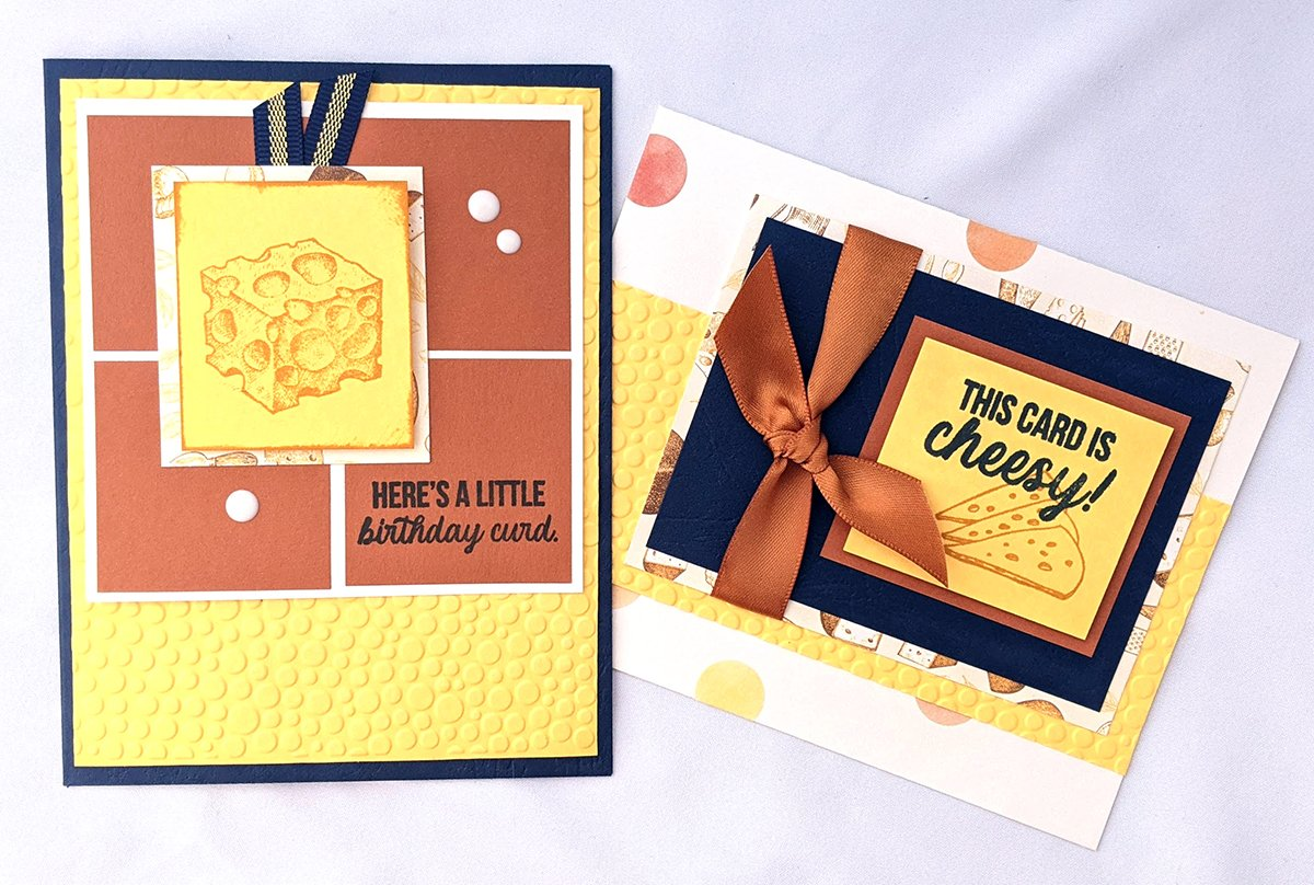 Say Cheese Stamped Card by LisaD