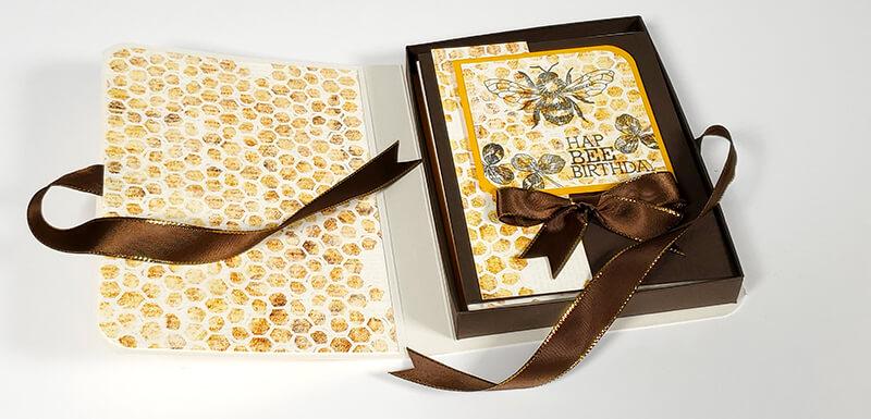 SSBE @Home - Learn to make a Quad Card Box
