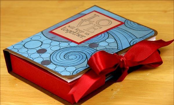 Reunion Gift Card Box Tutorial