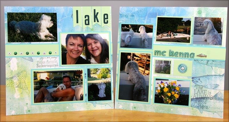 Lakes Layout Card