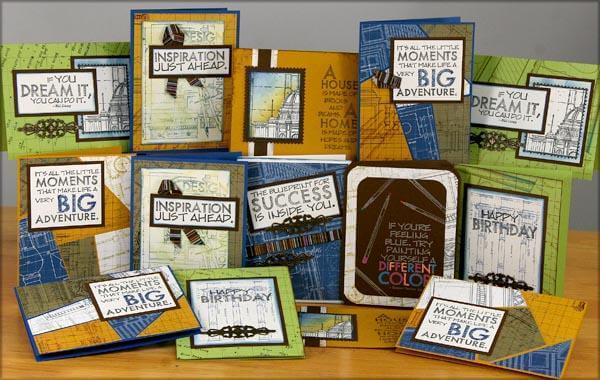 14 Blueprints Cards