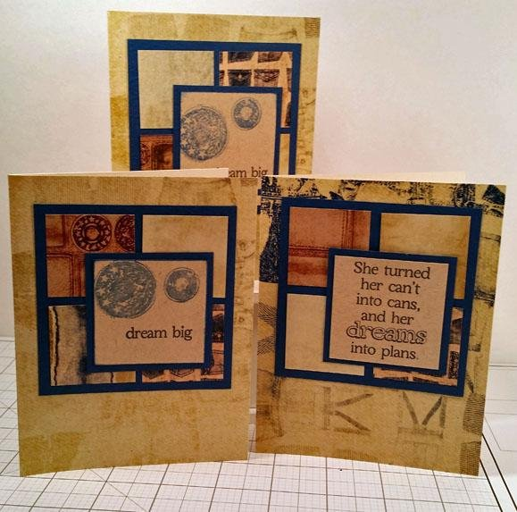 Assembly Line Card Making Upcycle