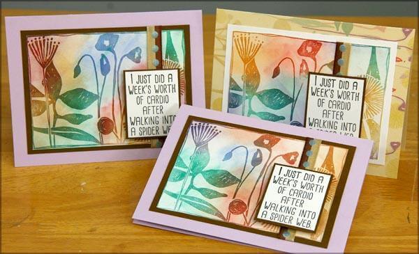 Botanicals Club Stamp Cards