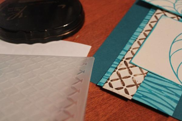 Embossed Border Tutorial