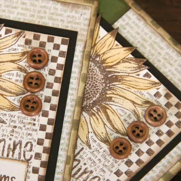 Sunflowers Club Stamp