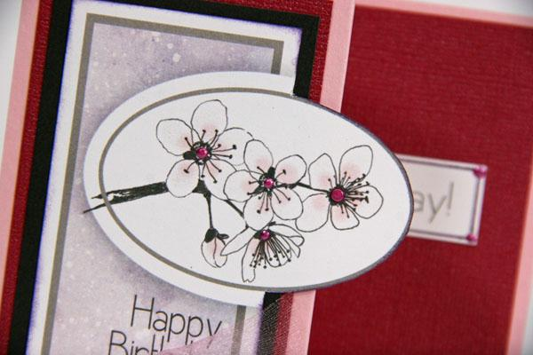 Cherry Blossoms Greetings to Go Guest Artist