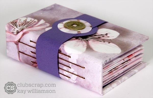 Cherry Blossoms Folded Pocket Book