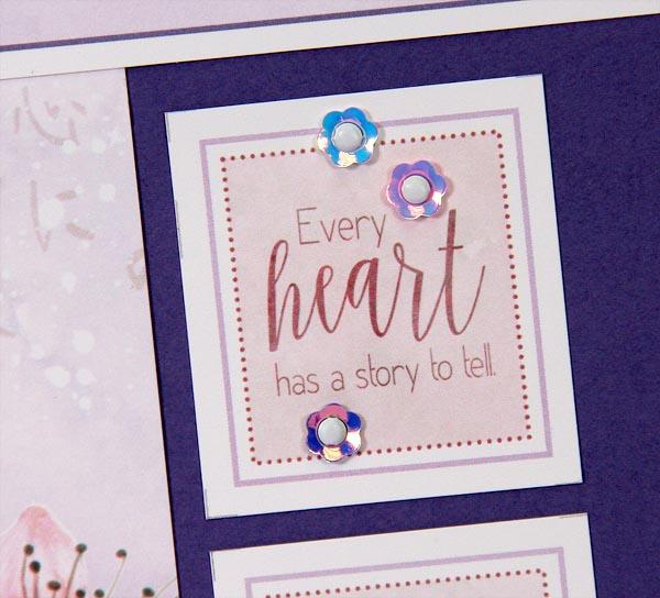 Cherry Blossoms Layouts and Cards