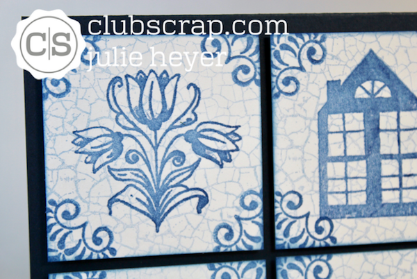 Delft Tiles Card