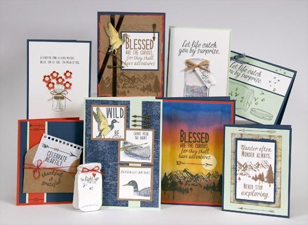 Handmade Cards with Adirondacks Stamps