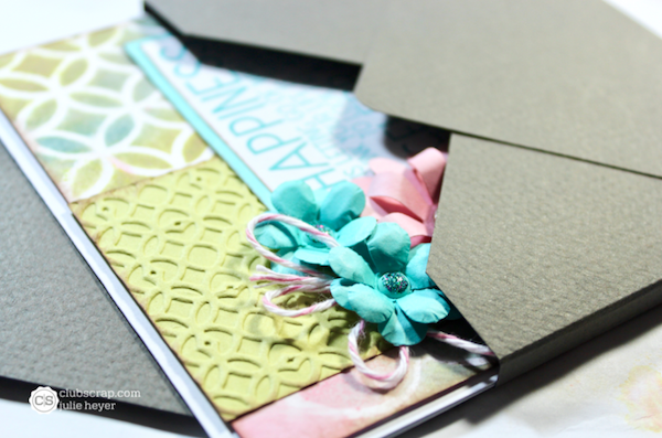 Envelope Box tutorial for dimensional cards.