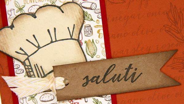 Trattoria Cards and Two Card Folios made with Club Stamp!