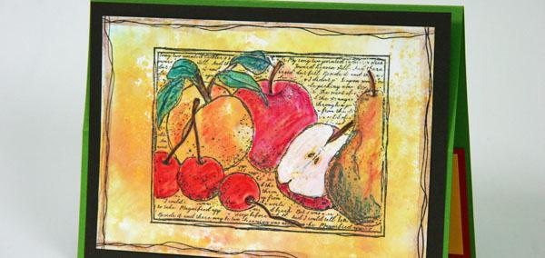 Greetings to Go Guest Artist--Orchard cards by the dozen.