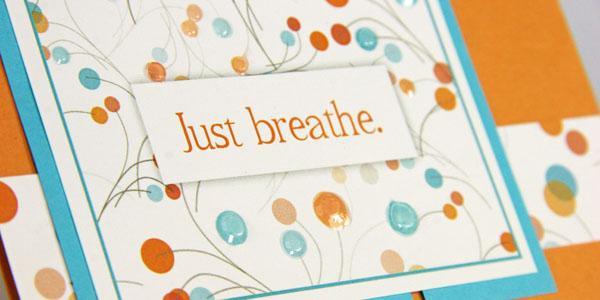 Make uplifting greeting cards with the Hopes Remix page kit.