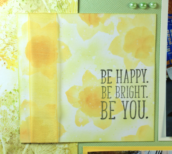 Make a Homemade Stencil with the Daffodils Hybrid Kit