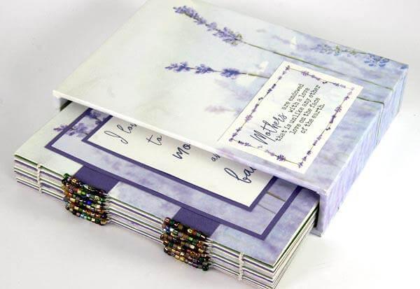 Lavender Fields Mini Album in a Sleeve
