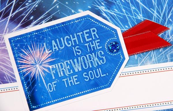 Firecracker Page Kit - Baby, you're a firework!