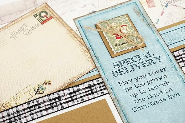 The Holiday Mail collection is here just in time!
