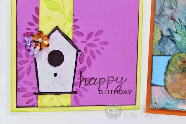 Craft Knife Magic! Create cards with Julie