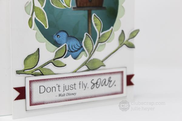 Aviary Pop-Up Shadow Box Card - Take a Peek!