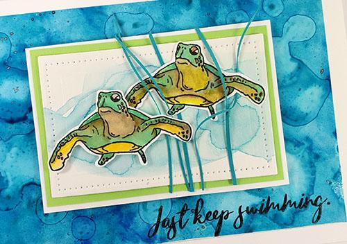 High Tide Guest Artist - Stamp your way to beautiful cards.