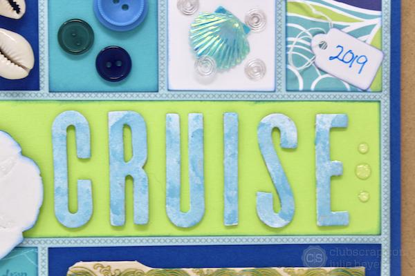 Cruise Clipboard Collage with the High Tide Collection!