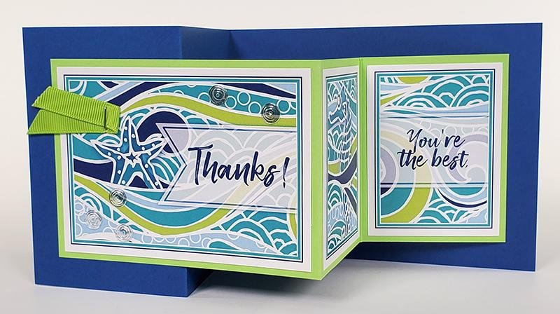 High Tide Card Kit - A splash of fun for the mailbox!