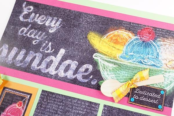 Sprinkles Remix Page Kit - Here's the scoop!