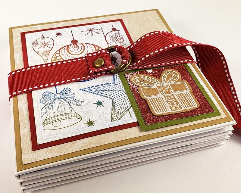 Memory-keeping with a Christmas Market Triple Folio Book