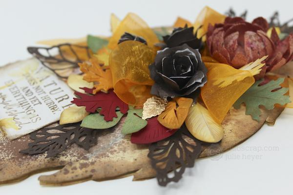 Leaf Wall Hanging featuring the Falling Leaves collection.