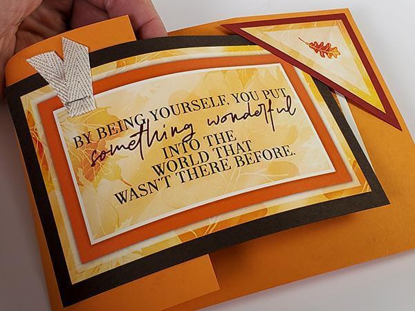 Falling Leaves Card Kit - Love 'n Learn!