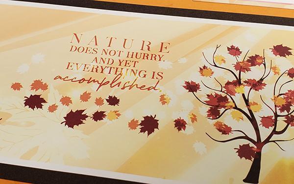 Falling Leaves - September 2019 -  Rake up the creativity!