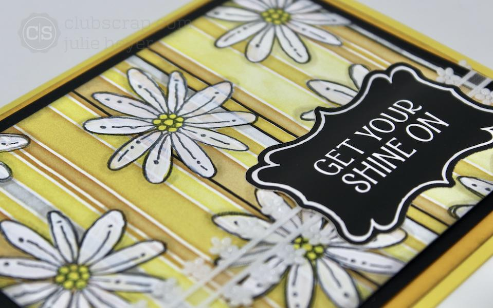Floating Daisies on a Hello, Sunshine Print!