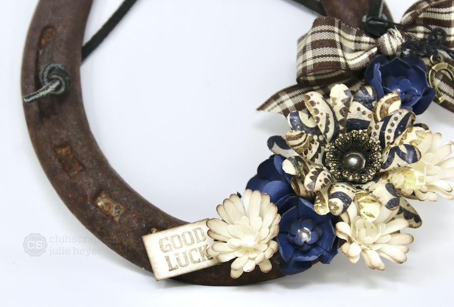 Altered Horseshoe featuring the Western collection!