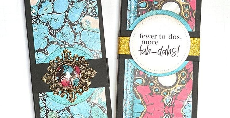 Tah-dah! Make A Turquoise To-do List