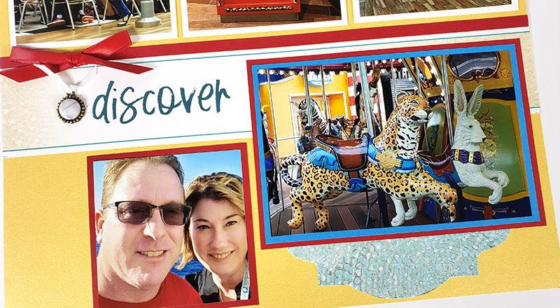 Turquoise Layouts - Scrappin' cruise memories.